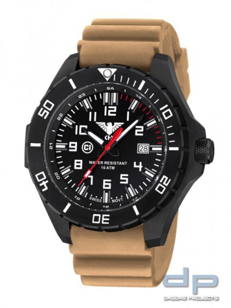 KHS Landleader Black Steel Diverband Tan