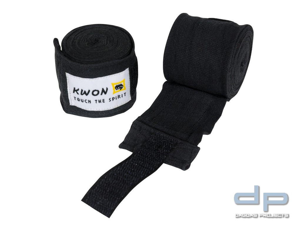 KWON Boxbandage Elastisch 4054000 schwarz