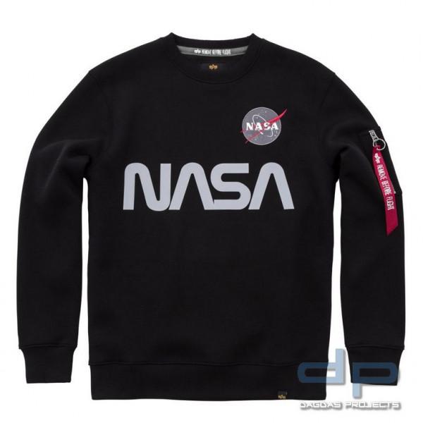 Alpha Industries NASA Reflective Sweater in verschiedenen Farben