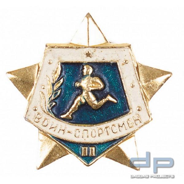 Russisches Metallabzeichen, geschraubt, neuwertig VPE 10
