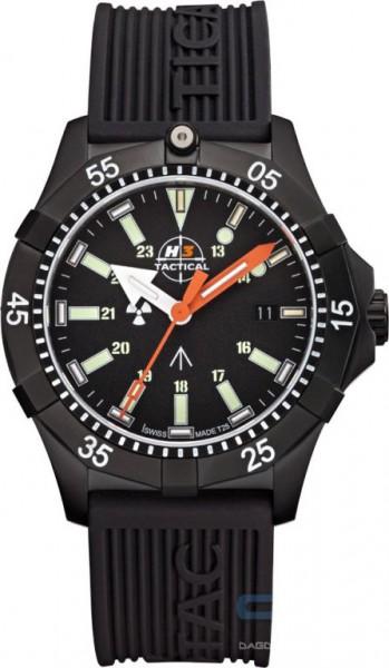 H3 TACTICAL Commander Diver H3 Uhr Silikonband