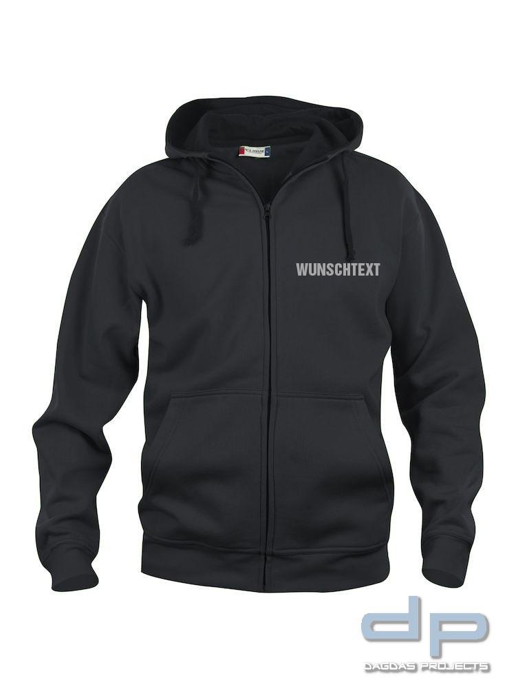 Basic Hoody Full zip Herren in verschiedenen Farben mit Wunschaufdruck